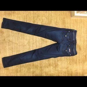 Hudson Collin Midrise Skinny Jeans